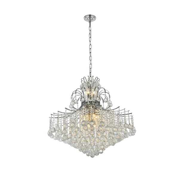 Fleur Illumination 15 light Chrome Chandelier