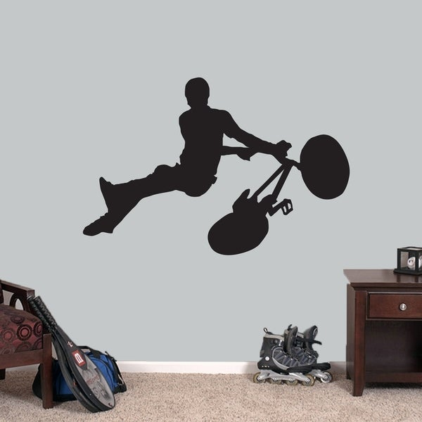 BMX Bicycle Wall Decals Wall Stickers