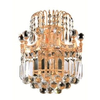 Fleur Illumination 2 light Gold Wall Sconce (4 options available)