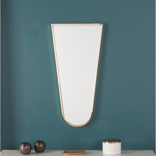 Darlene Brass Decorative Mirror