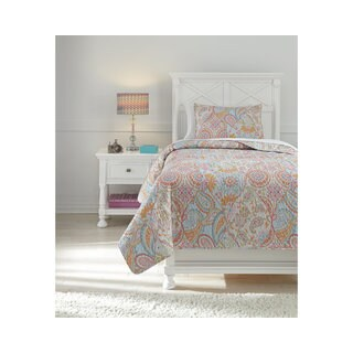Signature Design by Ashley Jessamine 3-piece Quilt Set