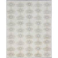 eCarpetGallery  Hand-knotted Royal Ushak Cream Wool Rug (8'0 x 10'0)