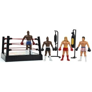 Super Boxing Ring Champions Children Kid's Toy Action Figure Playset