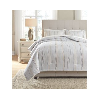 Signature Design by Ashley Bevan 3-piece Comforter Set