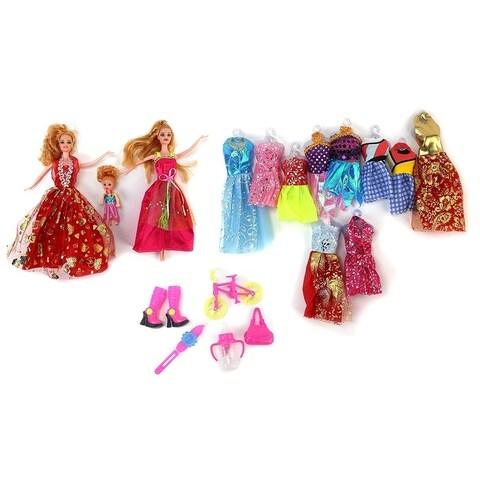 Princess Happy Time Fashion Kid's Toy Doll Playset