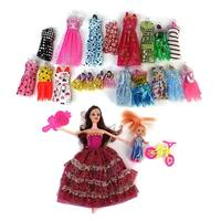 Madilynn Beauty Fashion Girl Kid's Toy Doll Fashion Variety Set