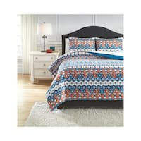Signature Design by Ashley Jackalyn 3-piece Comforter Set