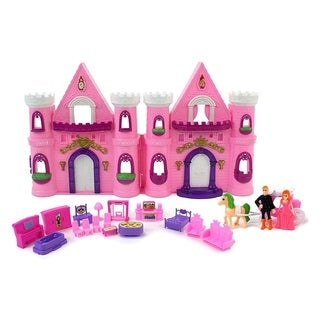 My Cute Little Princess Grand Castle Toy Dollhouse Playset