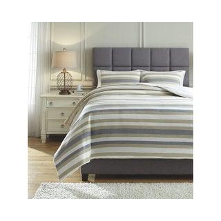 Signature Design by Ashley Isaiah 3-piece Comforter Set
