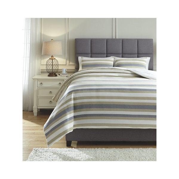 Shop Signature Design By Ashley Isaiah 3 Piece Comforter Set Free