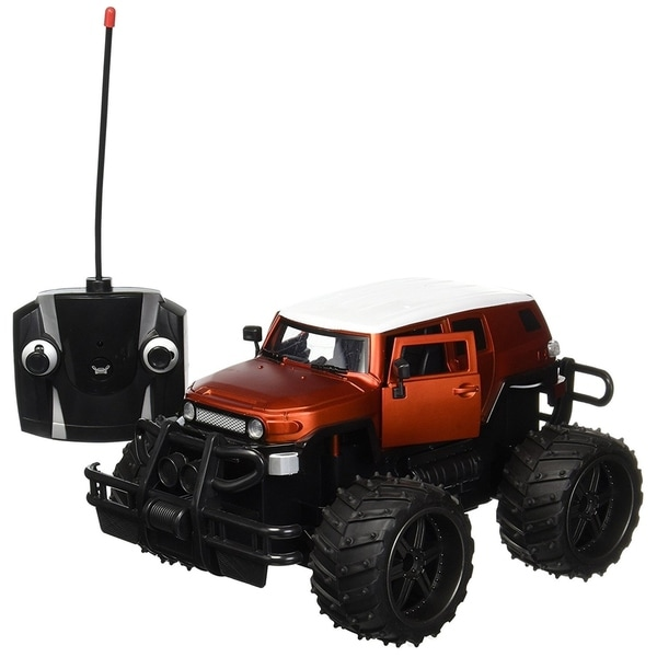 FJ Cruiser Cross Country 1-14 Scale 4WD 2.4 GHz Toy RC Jeep Truck