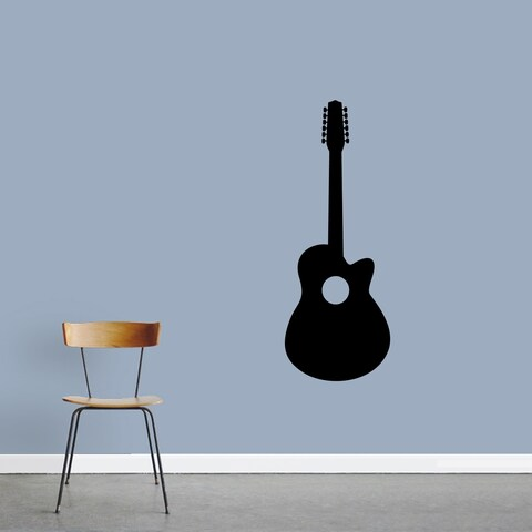 Classic Guitar Wall Decals Wall Stickers
