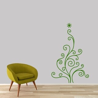 Christmas Tree Wall Decals Wall Stickers