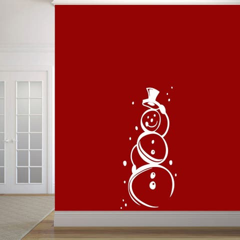 Cute Snowman Wall Decals Wall Stickers