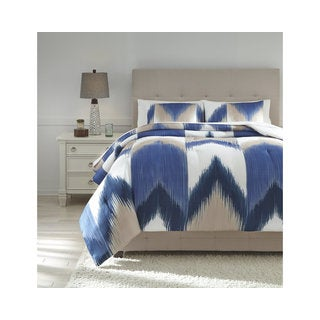 Signature Design by Ashley Mayda 3-piece Comforter Set