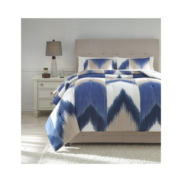 Signature Design by Ashley Mayda 3-piece Comforter Set