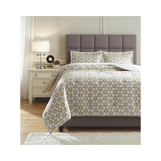 Signature Design by Ashley Clio 3-piece Comforter Set