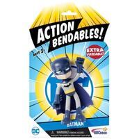 """NJ Croce DC Comics ACTION BENDALBES! - 4"""" Batman Action Figure"""