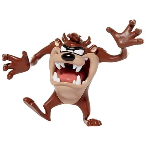 "NJ Croce Looney Tunes Tasmanian Devil 6"" Bendable Action Figure"