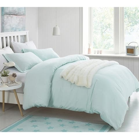BYB Duvet Cover Hint of Mint Supersoft Bedding