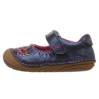 Stride Rite Girls' Soft Motion Atley Shoe (Toddler/Little Kid) Navy