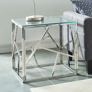 Juniper-Accent Table-Chrome