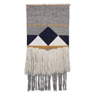 Renwil Maricopa Irregular Wool and Cotton Wall Décor