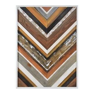 Renwil Chevy Rectangular Wood Wall Décor