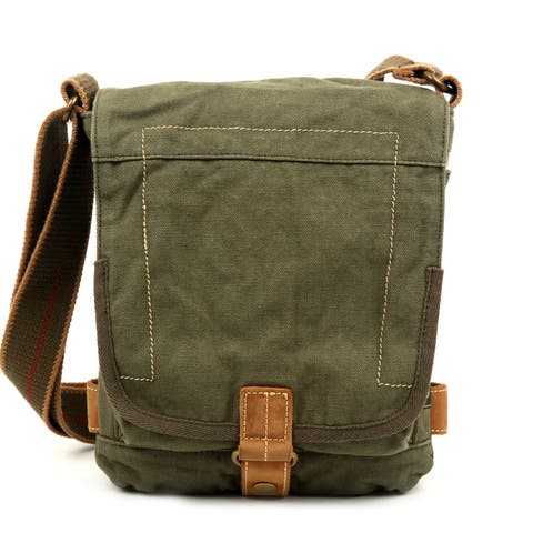 TSD Brand Oak Hill Canvas Crossbody