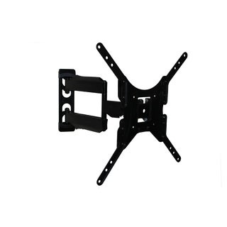 "Rocelco Medium Dual Articulated Flat Panel TV Mount, 23"" - 46"" range - Black"