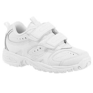 Stride Rite Cooper Hook & Loop Sneaker White (Little Kid)