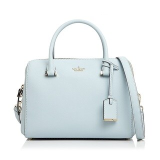kate spade new york Cameron Street Lane Large Shimmer Blue Satchel Handbag