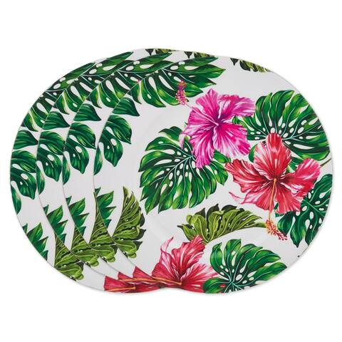 Blooming Buds Charger Plate (set of 4)