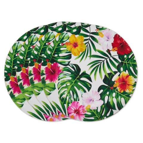 Blooming Lillies Charger Plate (set of 4)