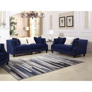Best Master Furniture Hampstead Sofa and Loveseat