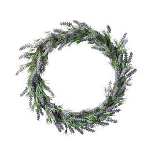 Let There Be Lavender Wreath