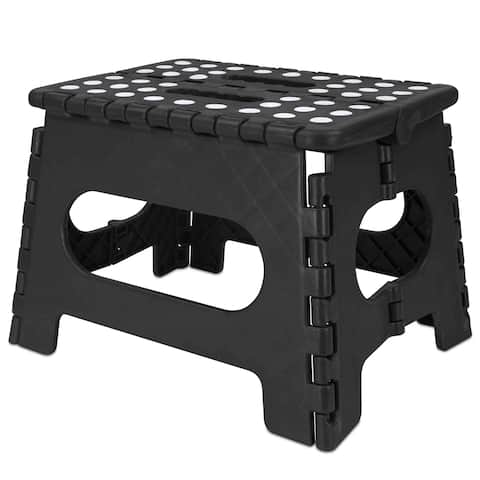 Folding Stool (Medium) Black