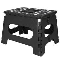 Folding Stool (Medium) Black