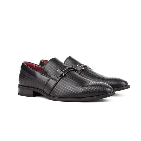 Gino Vitale Men's Diamond Cut Loafers