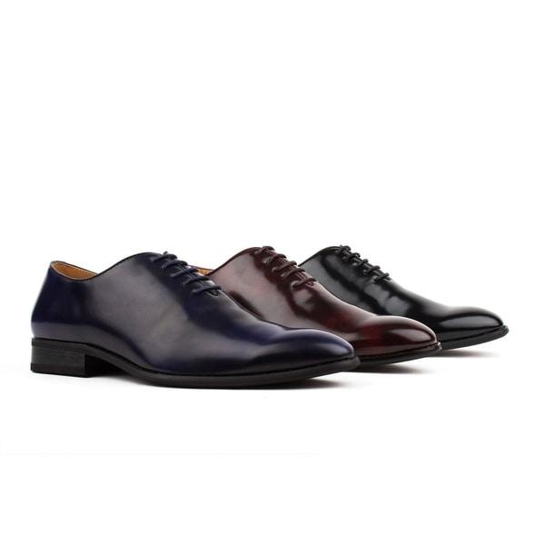 Shop UV Signature Men's Wholecut Oxford Dress Shoes Free
