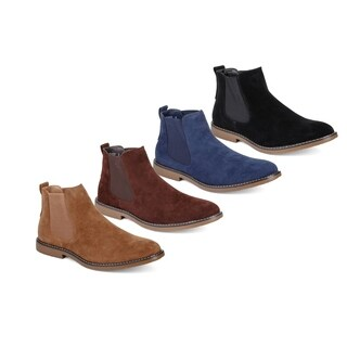 Miko Lotti Men's Suede Ankle Chelsea Boots (More options available)