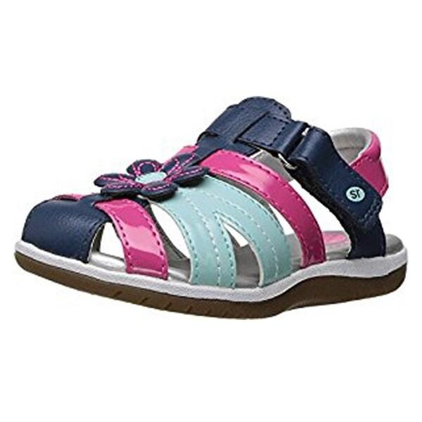 Kiernan Sandal (Toddler) Navy Multi