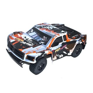 ALEKO 2WD RC 2.4GHz LiPo Powered Brushless Off-Road Truck 1/12 Scale (Option: Silver)
