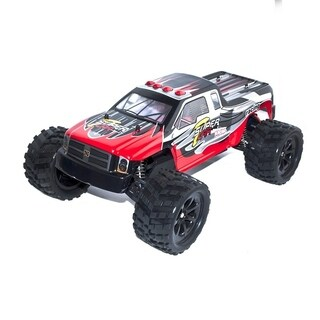 ALEKO 2WD RC 2.4GHz LiPo Powered Red Off-Road Buggy 1/12 Scale