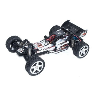 ALEKO 2WD RC 2.4GHz LiPo Powered Off-Road Buggy 1/12 Scale (Option: White)