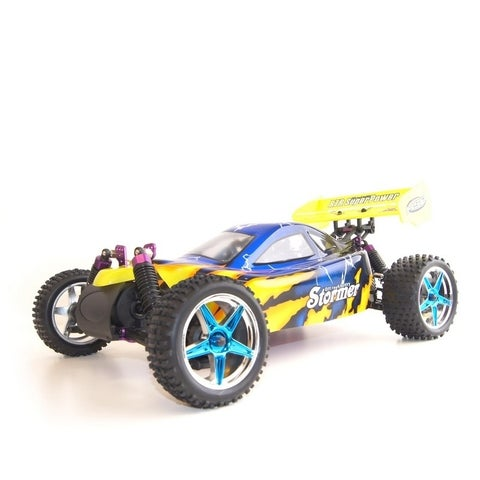 ALEKO 4WD RC 2.4GHz Nitro Powered Off-road Buggy 1/10 Scale
