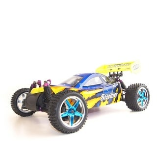 ALEKO 4WD RC 2.4GHz Nitro Powered Off-road Buggy 1/10 Scale (2 options available)
