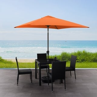 CorLiving 9ft Square Tilting Patio Umbrella