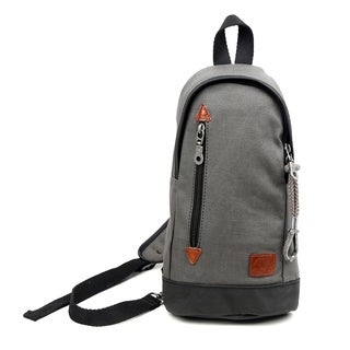 TSD Brand Urban Light Coated Canvas Sling Bag (2 options available)
