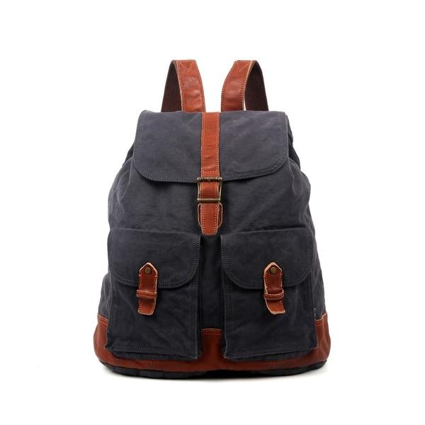 3d909265b3ba Shop TSD Brand Trail Breeze Canvas Backpack - On Sale - Free ...